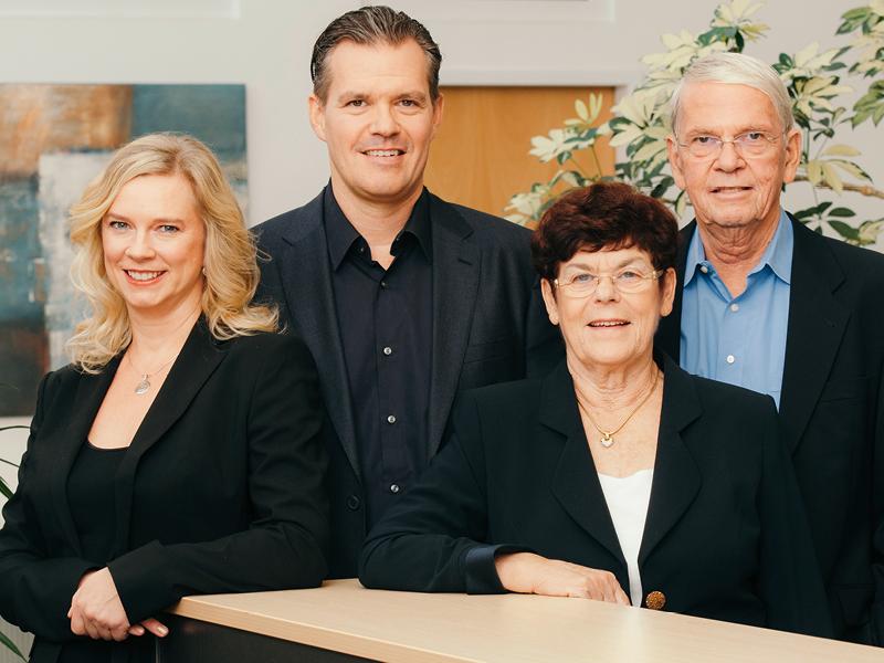 Die Geschäftsleitung: Familie Jerney